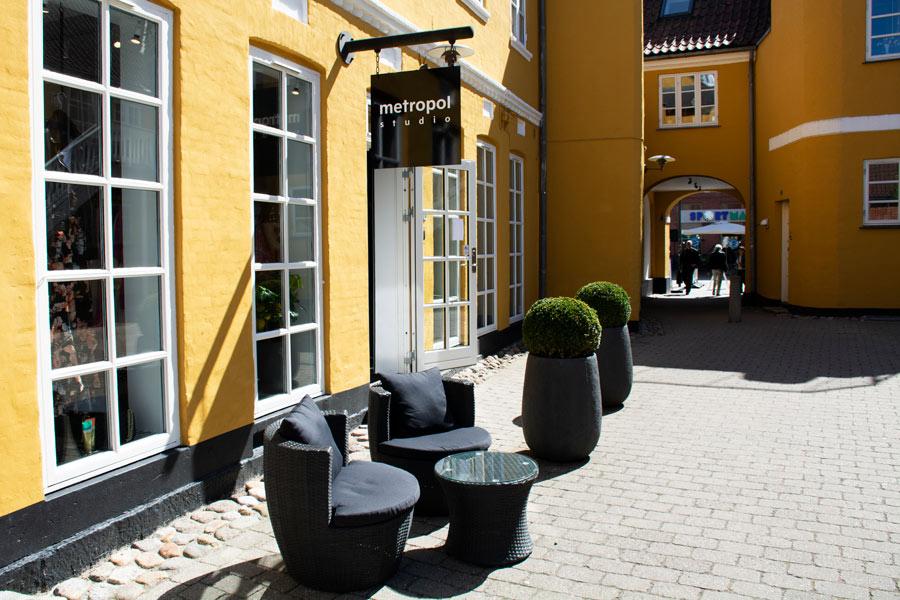 Butikken Metropol i Djalma Lunds Gaard
