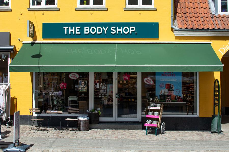 The Body Shop i Djalma Lunds Gaard